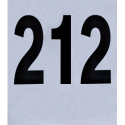 Dorsali neutri 16x18 numerazione da 201-300 (pz. 100)