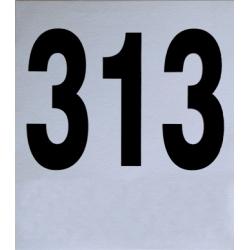 Dorsali neutri 16x18 numerazione da 301-400 (pz. 100)