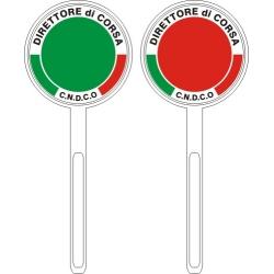Paletta personalizzata DIRETTORE ORGANIZZAZIONE FCI