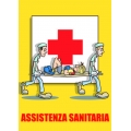 "Cartello fumetto ""ASSISTENZA SANITARIA"""
