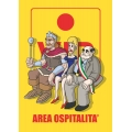 "Cartello fumetto ""AREA VIP"""