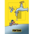 "Cartello fumetto ""FONTANA"""