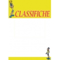 "Cartello fumetto ""CLASSIFICHE"""