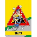 "Cartello fumetto ""SALITA"""