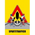 "Cartello fumetto ""SPARTITRAFFICO"""
