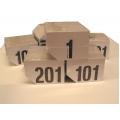 Numeri neutri per telaio 13x9 numerazione da 201-300