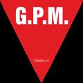 Triangolo ROSSO GPM in PVC